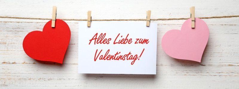 Valentinstag Header