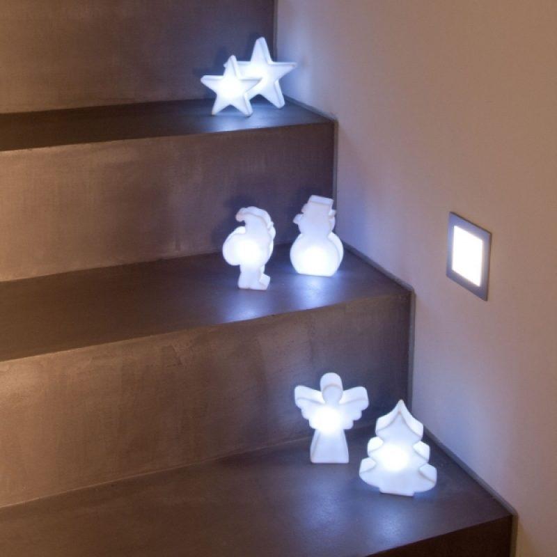 stimmungsvolles licht zu weihnachten. Black Bedroom Furniture Sets. Home Design Ideas