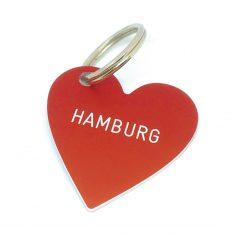 Herz Anhänger - Hamburg