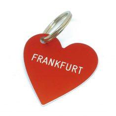 Herz Anhänger - Frankfurt