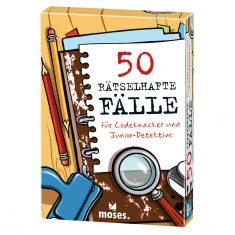 Kartenset - 50 rätselhafte Fälle für Codeknacker und Junior-Detektive