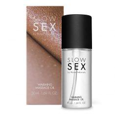Slow Sex Warming Massage Oil