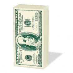 Taschentücher SNIFF - 100 Dollar