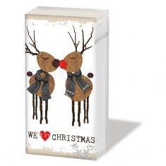 Taschentücher SNIFF - We love Christmas