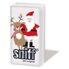 Taschentücher SNIFF - Santa & Deer