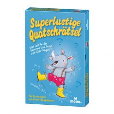 Superlustige Quatschrätsel - Kartenspiel