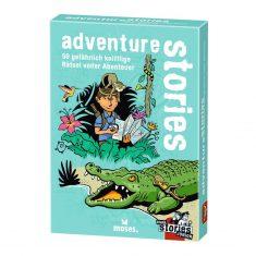 Kartenset - black stories junior,  adventure stories