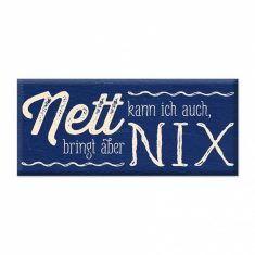 Schoko - Nett kann ich auch, bringt aber nix