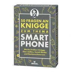 Kartenset - 50 Fragen an Knigge: Smartphone