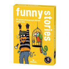 Kartenset - black stories junior,  funny stories