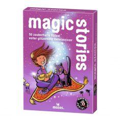 Kartenset - black stories junior, magic stories