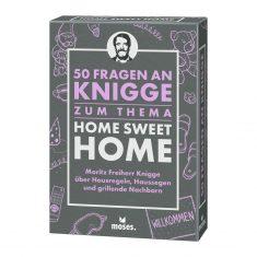Kartenset - 50 Fragen an Knigge: Home Sweet Home