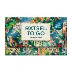 Rätsel to go Denksport-Mix: bunt & wild edition