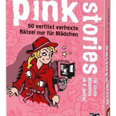 Kartenset - black stories junior,  pink stories