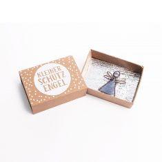 Kleine Wunschbox - Kleiner Schutzengel, silber