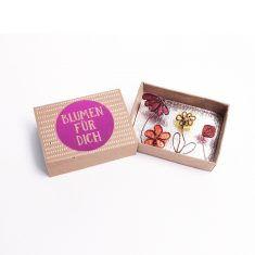 Kleine Wunschbox - Blumen für Dich