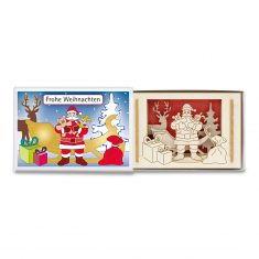 Silhoubox Mini-Silhouette - Weihnachtsmann