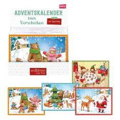 Postkarten-Adventskalender für Kinder