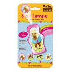 3 in 1 Lampe - Mein kleiner Ponyhof