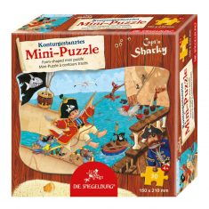 Mini-Puzzle Capt'n Sharky - Piratenangriff, 30 Teile
