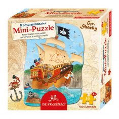 Mini-Puzzle Capt'n Sharky - Schiff ahoi!, 30 Teile