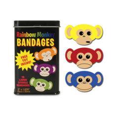 Pflasterdose - Rainbow Monkey