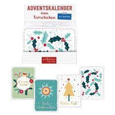 Postkarten-Adventskalender Xmas