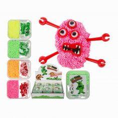 DIY Foam Monster Kügelchen-Knete-Set