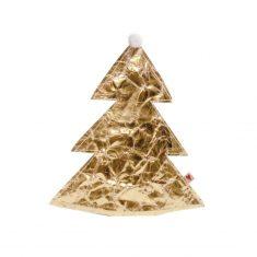 Gold Papierbaum, klein