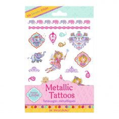 Metallic Tattoos - Prinzessin Lillifee