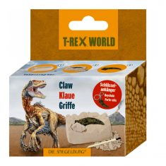 Ausgrabungsset - Dinosaurier Klaue oder Zahn, T-Rex World