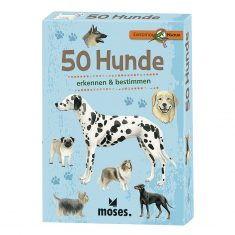 Kartenset - Expedition Natur, 50 Hunde