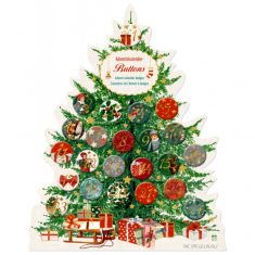 Adventskalenderbuttons - Schöne Weihnachtszeit!