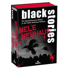 Kartenset - black stories, Nele Neuhaus Edition