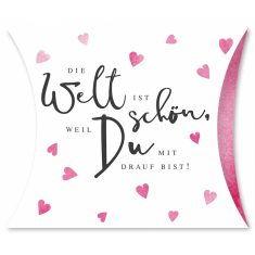 Himbeer-Bonbons - Die Welt ist schön...