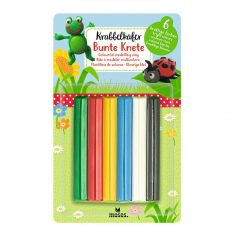 Krabbelkäfer - Bunte Knete, kräftige Farben