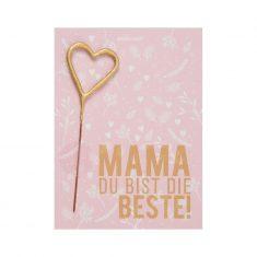 Mini Wondercard - Mama  Du bist die Beste