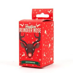 Leuchtende Rentiernase - Festive Reindeer Nose