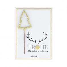 Mini Wondercard - Frohe Weihnachten