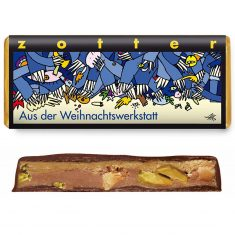 Schokolade - Aus der Weihnachtswerkstatt
