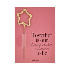 Mini Wondercard - Together is our favorite place to be