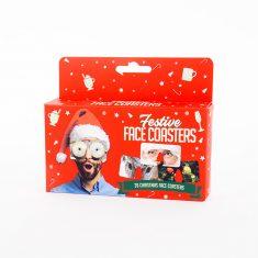 Untersetzer -  Festive Face Coasters