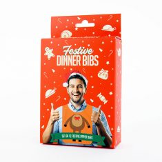 Weihnachtslätzchen - Festive Dinner Bibs, 12er-Set