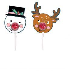 Weihnachts-Lolli - Fröhliche Weihnachten