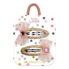 Haarclips - Prinzessin Lillifee Glitter & Gold, 2er-Set