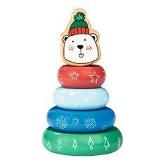 Steckspiel Weihnachten - Eisbär