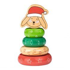 Steckspiel Weihnachten - Hase