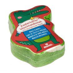 Zauberhafter Waschhandschuh - Krokodil
