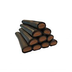 Lakritzstange gefüllt - Schokolade