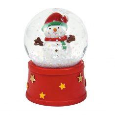 Schneekugel Weihnachten - Schneemann